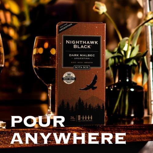 Bota Box Nighthawk Black® Dark Malbec California Red Wine Perspective: back