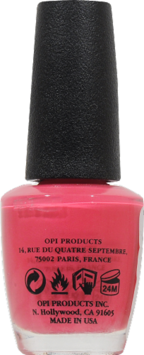 OPI Strawberry Margarita Nail Lacquer Perspective: back