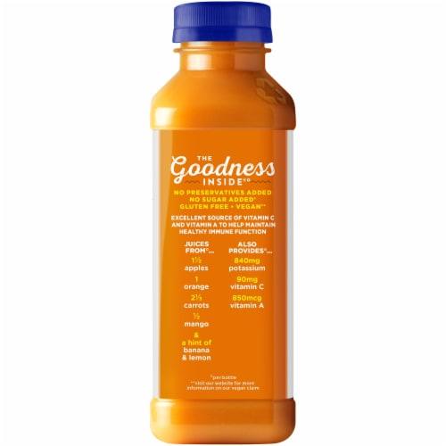 Naked Orange Carrot Mango Juice Blend Perspective: back
