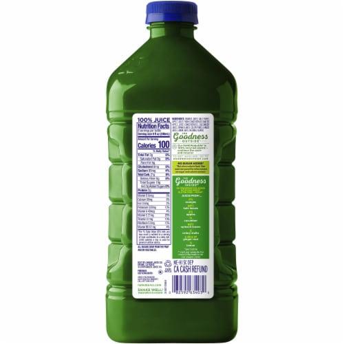 Naked Juice Kale Blazer Fruit and Veggie Juice Perspective: back