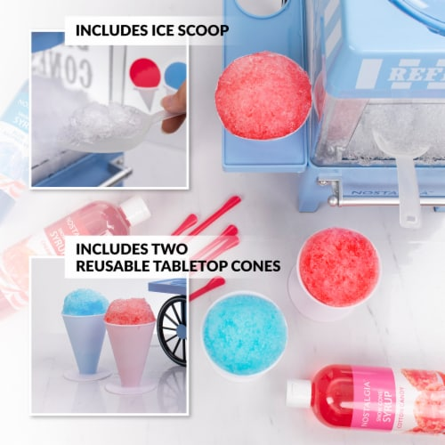 Nostalgia Vintage Snow Cone Maker Perspective: back