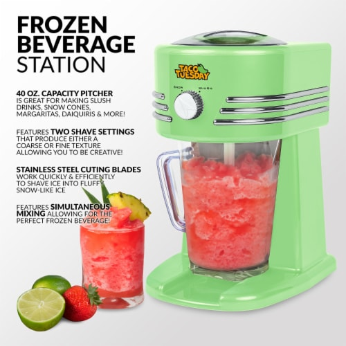 Taco Tuesday Frozen Beverage Station - Green Perspective: back