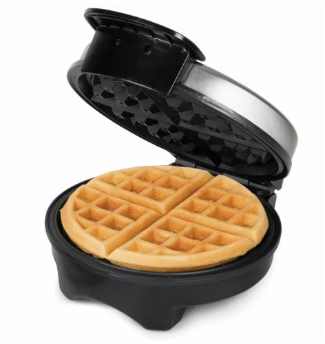 HomeCraft Round Belgian Waffle Maker Perspective: back
