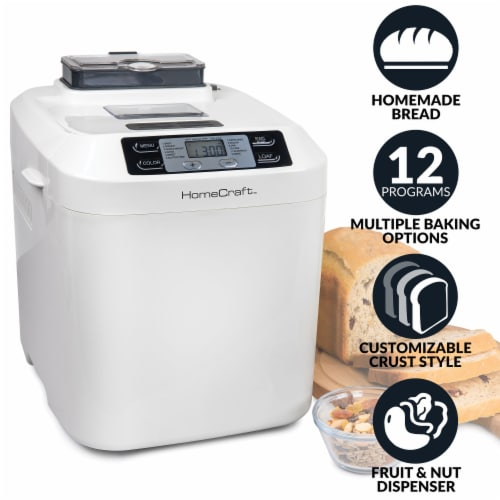 HomeCraft Programmable Breadmaker Perspective: back