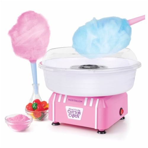Nostalgia Hard & Sugar Free Candy Cotton Candy Maker Perspective: back