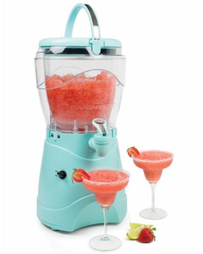 Nostalgia 1 Gallon Margarita and Slush Machine - Aqua Perspective: back