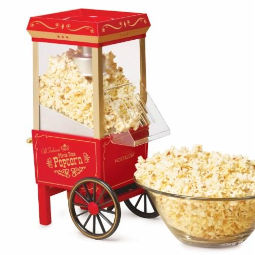 Nostalgia 12-Cup Hot Air Popcorn Maker Perspective: back