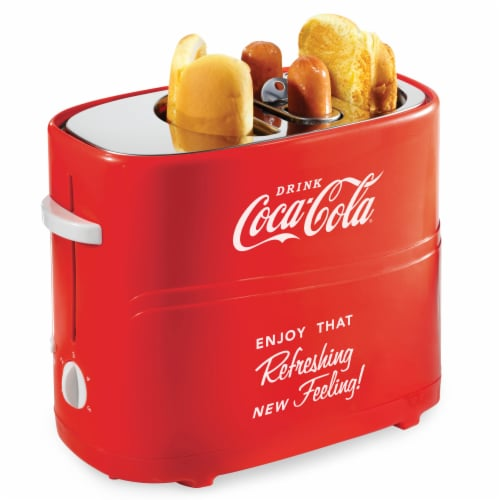 Nostalgia Coca-Cola Pop-Up Hot Dog Toaster Perspective: back