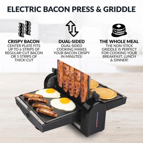 HomeCraft Bacon Press & Griddle Perspective: back