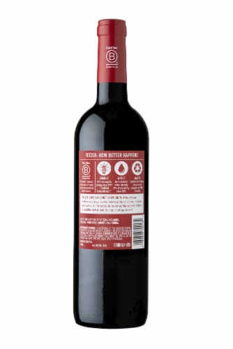 Fetzer Cabernet Sauvignon Red Wine Perspective: back