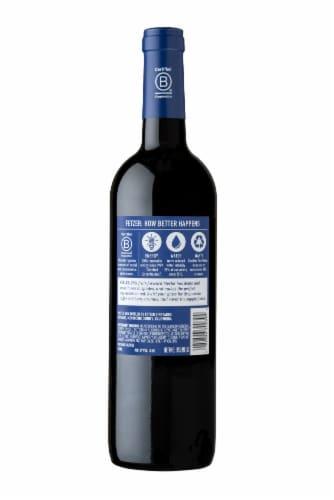 Fetzer Eagle Peak Merlot Red Wine Perspective: back