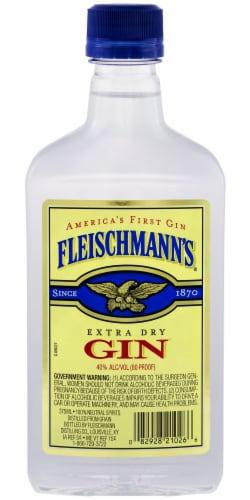 Fleischmann's Extra Dry Gin Perspective: back