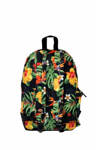 Dickies Colton Cotton Canvas Backpack - Tropical Paradise Perspective: back