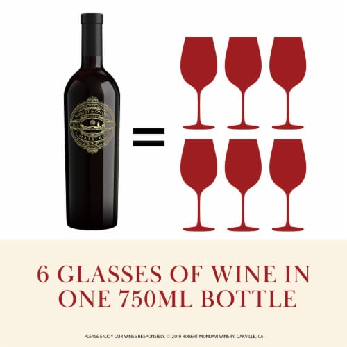 Robert Mondavi Winery Napa Valley Maestro Red Wine Perspective: back