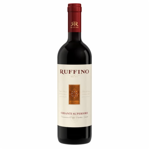Ruffino Chianti Superiore Red Wine Perspective: back