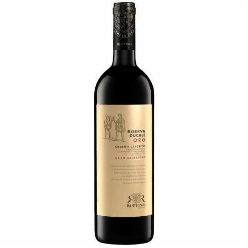 Ruffino Riserva Ducale Oro Gran Selezione Chianti Classico Red Wine Perspective: back