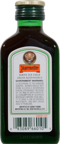 Jagermeister Cordial Perspective: back