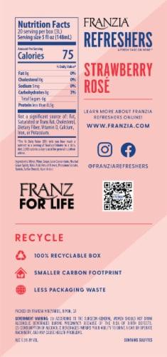 Franzia Refreshers Strawberry Rose Box Wine Perspective: back