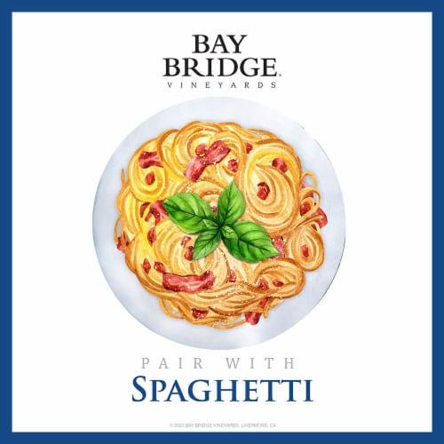 Bay Bridge Merlot Red Wine Perspective: back