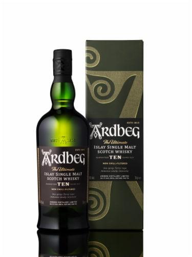 Ardbeg 10 Years Old Islay Single Malt Scotch Whisky Perspective: back