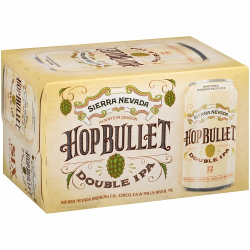 Sierra Nevada Brewing Co. Hop Bullet Double IPA Perspective: back