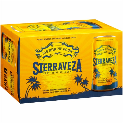 Sierra Nevada Brewing Co. SierraVeza Easy-Drinking Lager Perspective: back