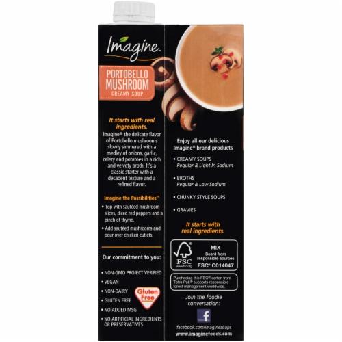 Imagine® Portobello Mushroom Creamy Soup Perspective: back
