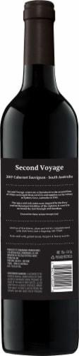 Second Voyage Cabernet Sauvignon Perspective: back