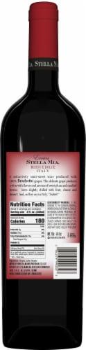 Evviva Stella Mia Rosso E Dolce Red Wine Perspective: back