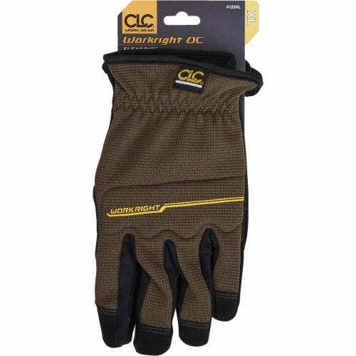 CLC Workright OC Men's XL Spandex Flex Grip Work Glove 123XL Perspective: back