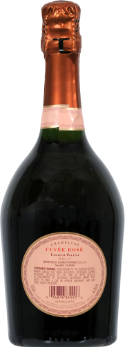 Laurent Perrier Brut Rose Champagne Perspective: back
