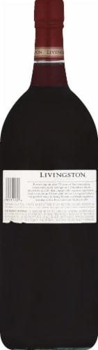 Livingston Cellars Cabernet Sauvignon Red Wine Perspective: back