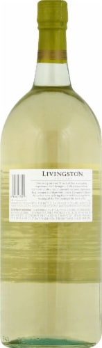 Livingston Cellars Chablis Blanc White Wine 1.5L Perspective: back
