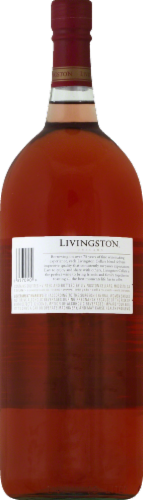 Livingston Cellars White Zinfandel Wine 1.5L Perspective: back