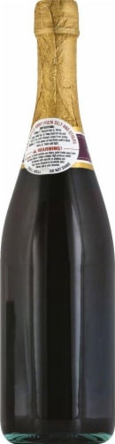 Andre Cold Duck Sweet Sparkling Red Wine Perspective: back