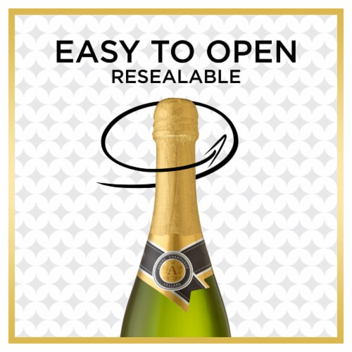 Andre Extra Dry Champagne Sparkling Wine 750ml Perspective: back