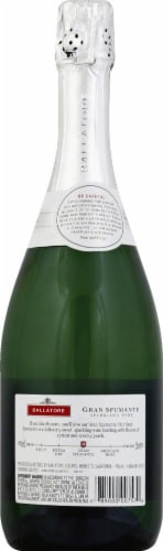 Ballatore Gran Spumante Sparkling Wine 750ml Perspective: back