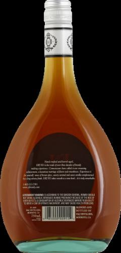 E&J XO Extra Smooth Brandy Perspective: back