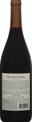 Frei Brothers Reserve Sonoma Pinot Noir Red Wine Perspective: back