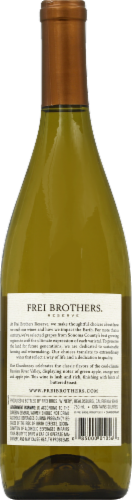 Frei Brothers Reserve Sonoma Chardonnay White Wine Perspective: back