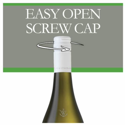 Whitehaven New Zealand Sauvignon Blanc White Wine 750 ml Perspective: back