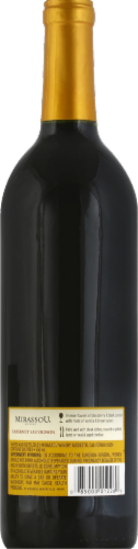 Mirassou Cabernet Sauvignon Red Wine 750ml Perspective: back