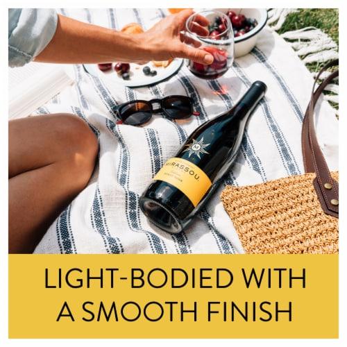 Mirassou Pinot Noir Red Wine Perspective: back