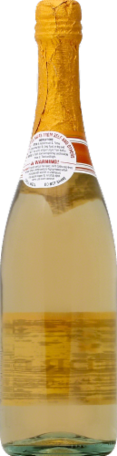 Andre Peach Moscato Champagne Sparkling Wine Perspective: back