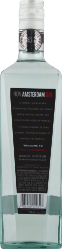 New Amsterdam Gin Perspective: back