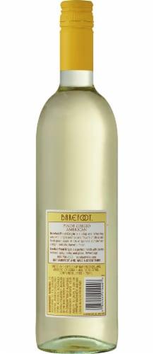 Barefoot Cellars Pinot Grigio White Wine 750ml Perspective: back