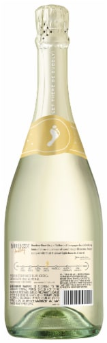 Barefoot Bubbly Champagne Pinot Grigio Perspective: back