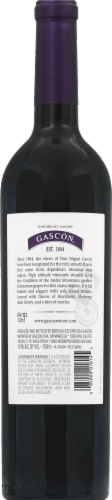 Don Miguel Gascon Argentina Malbec Red Wine Perspective: back