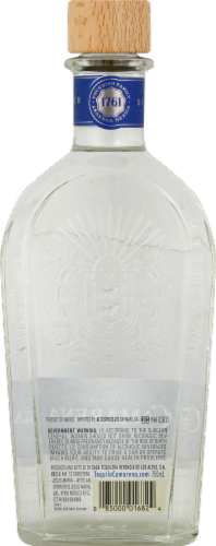 Familia Camarena Tequila Silver Perspective: back