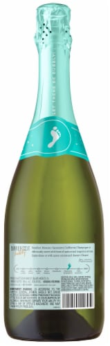 Barefoot Bubbly Moscato Spumante Champagne Sparkling Wine 750ml Perspective: back